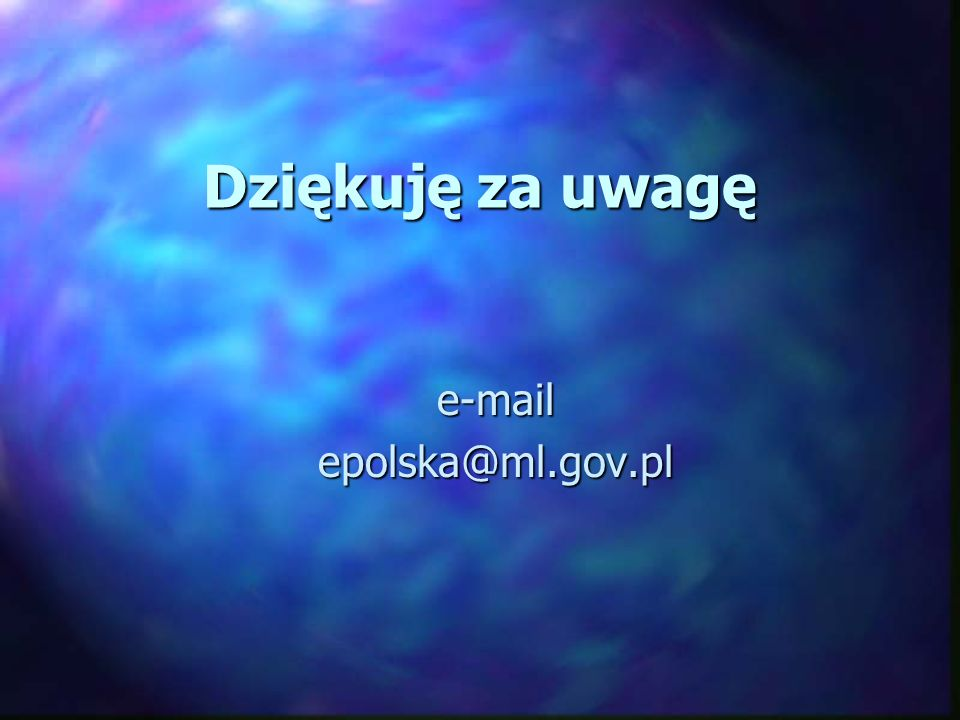 e-mail epolska@ml.gov.pl