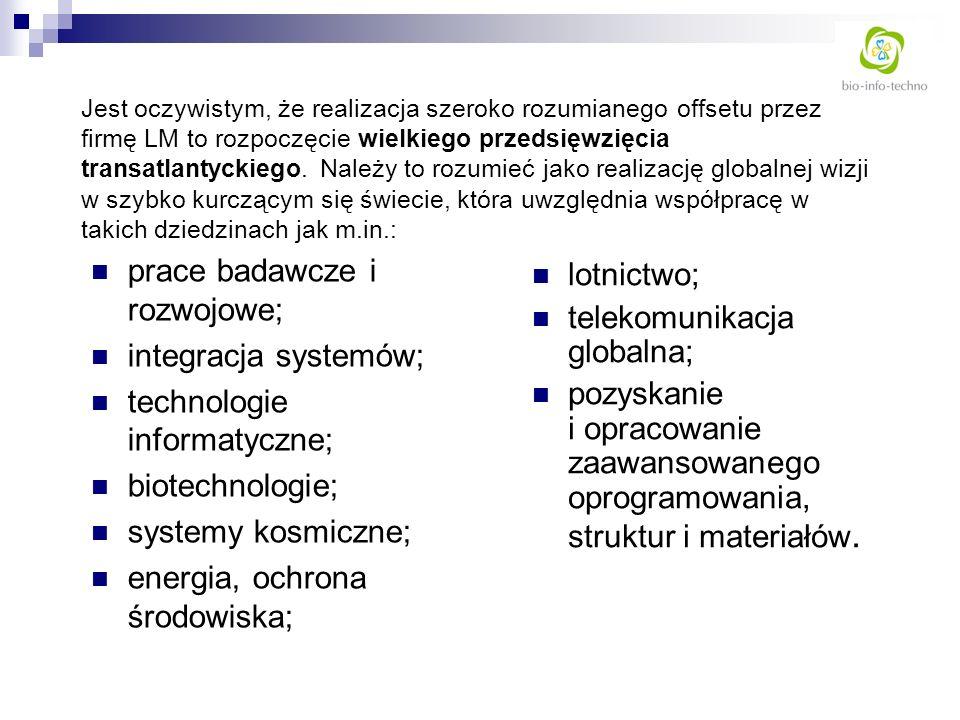prace badawcze i rozwojowe; integracja systemów;
