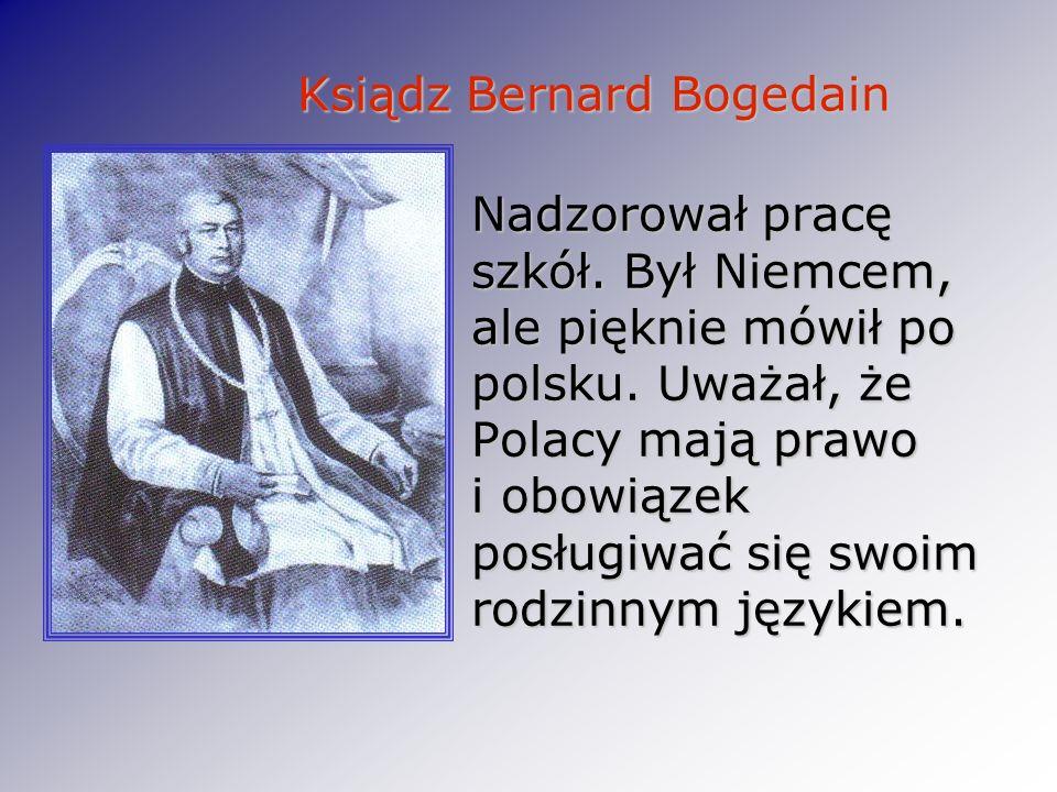 Ksiądz Bernard Bogedain