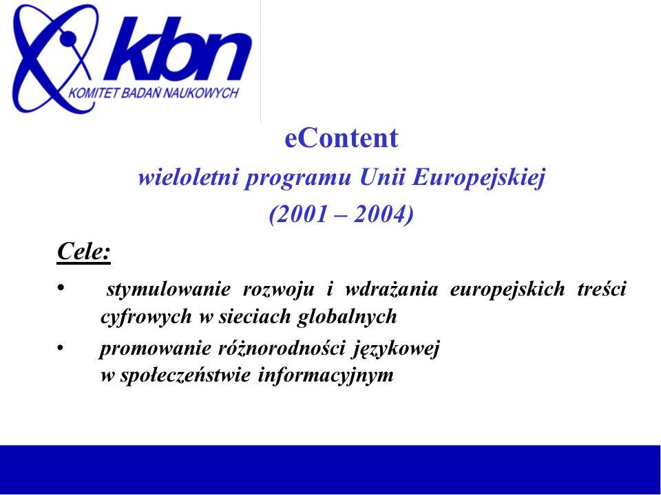 wieloletni programu Unii Europejskiej