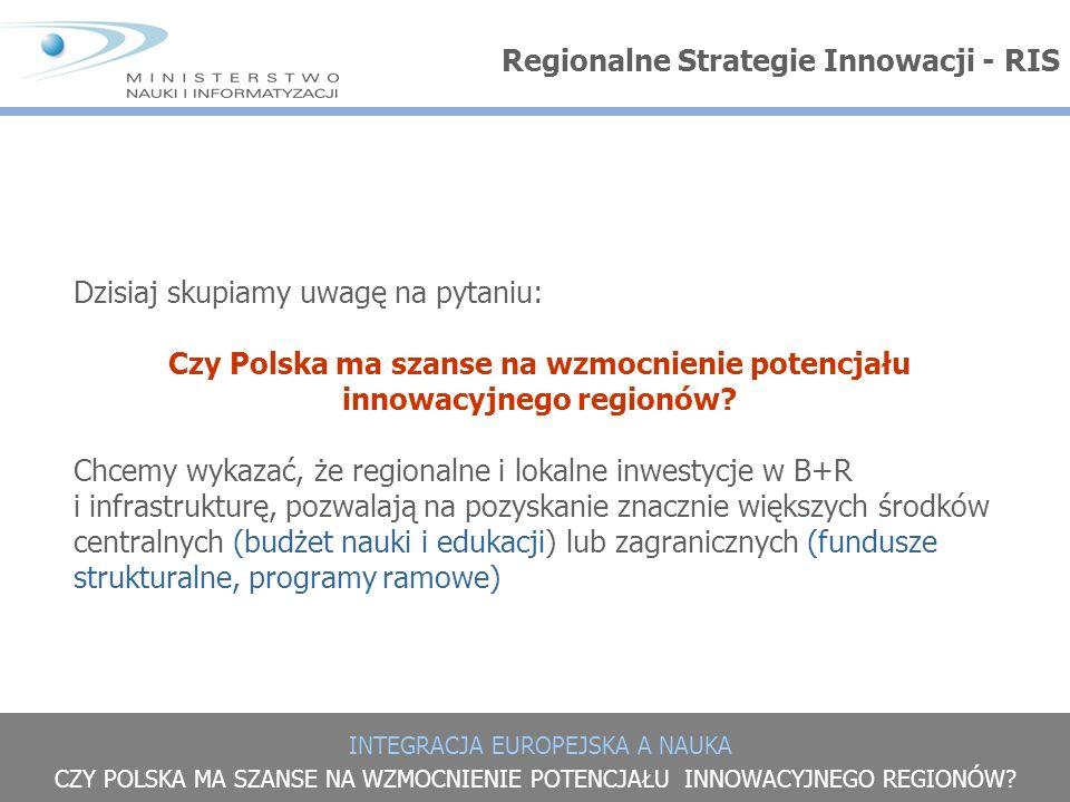 Czy Polska ma szanse na wzmocnienie potencjału innowacyjnego regionów