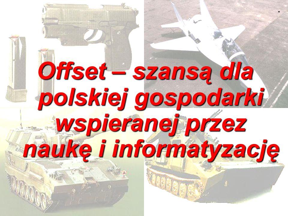 * Offset – szansą dla polskiej gospodarki wspieranej przez naukę i informatyzację