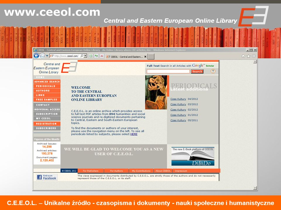 Central and Eastern European Online Library