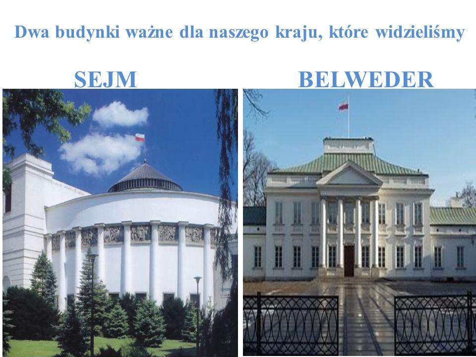 Dwa budynki ważne dla naszego kraju, które widzieliśmy