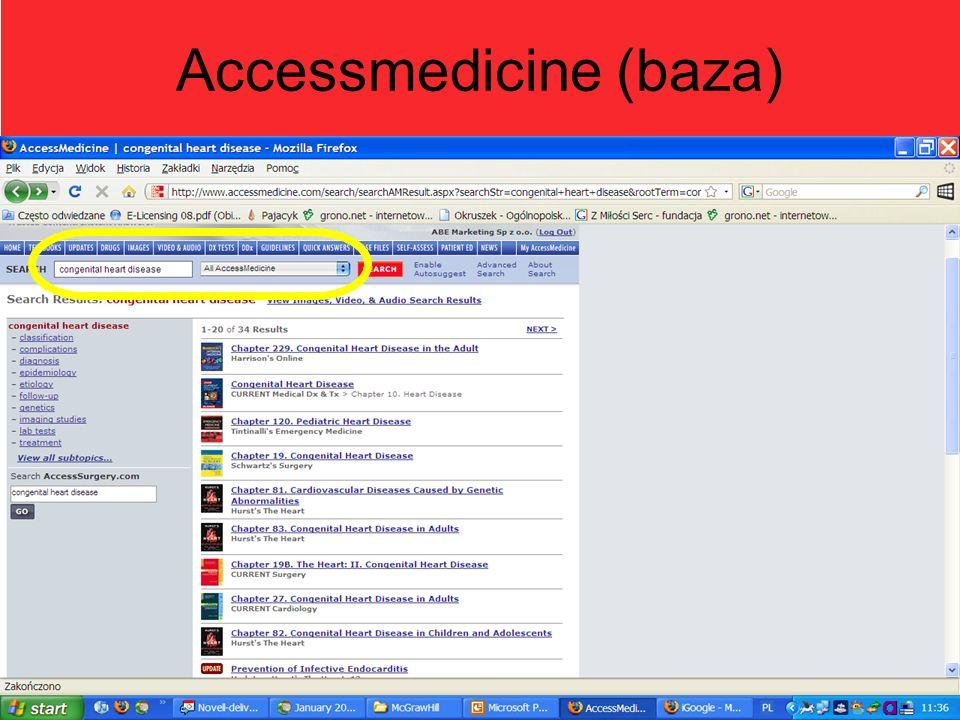 Accessmedicine (baza)