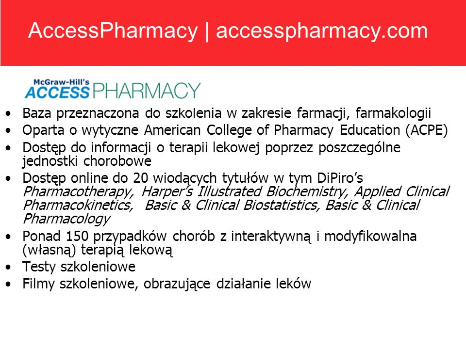 AccessPharmacy | accesspharmacy.com