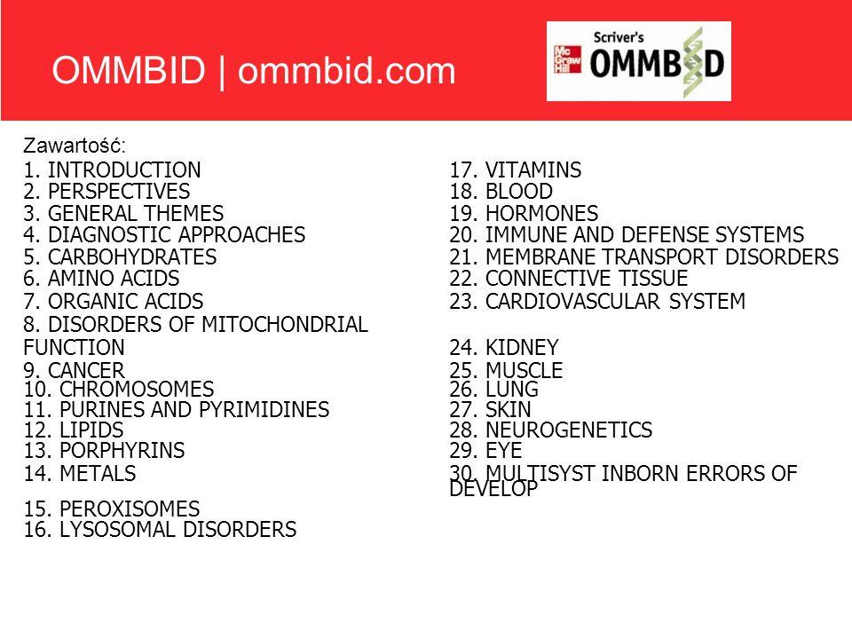 OMMBID | ommbid.com Zawartość: 1. INTRODUCTION 17. VITAMINS
