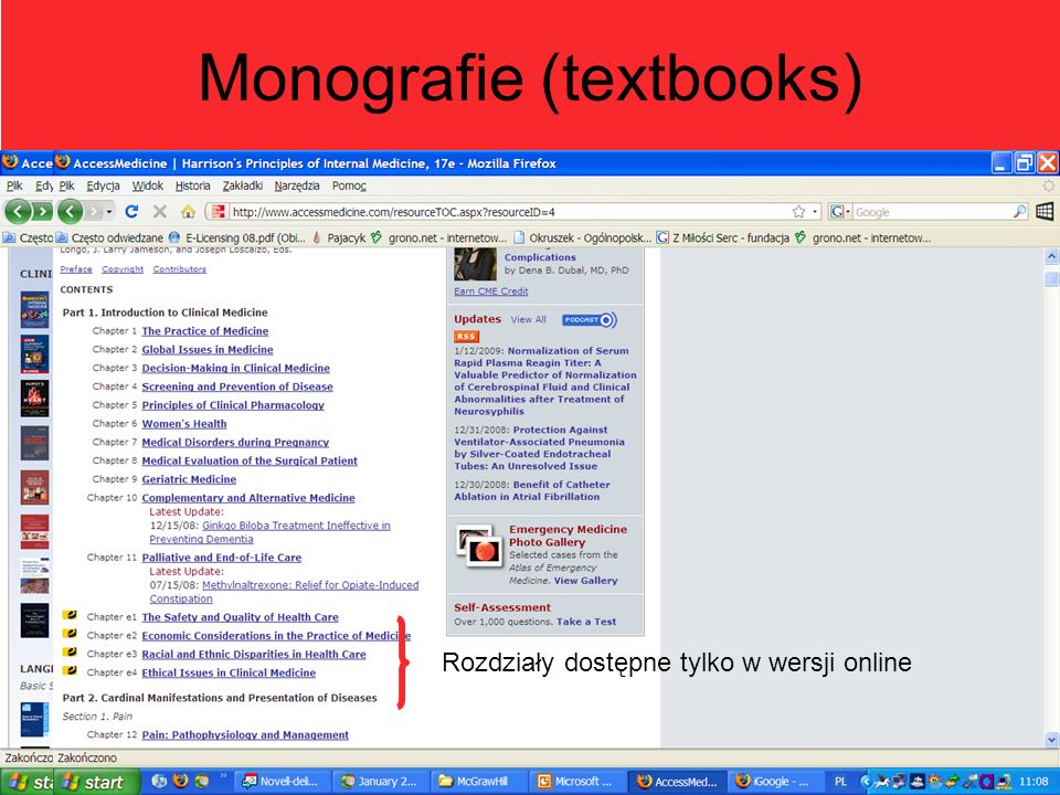 Monografie (textbooks)