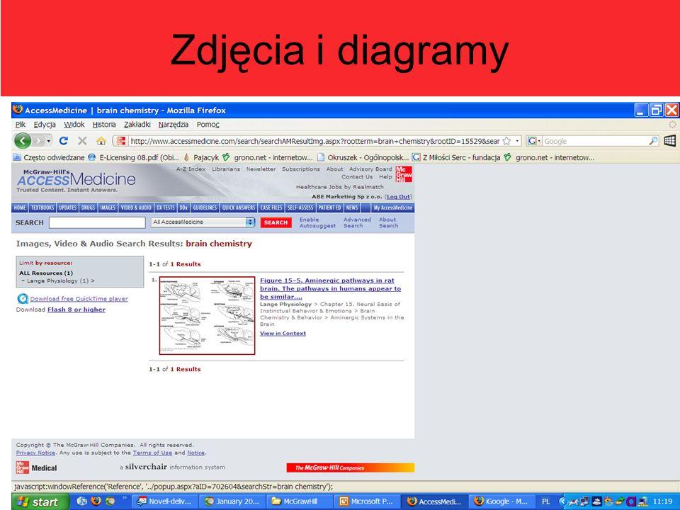 Zdjęcia i diagramy