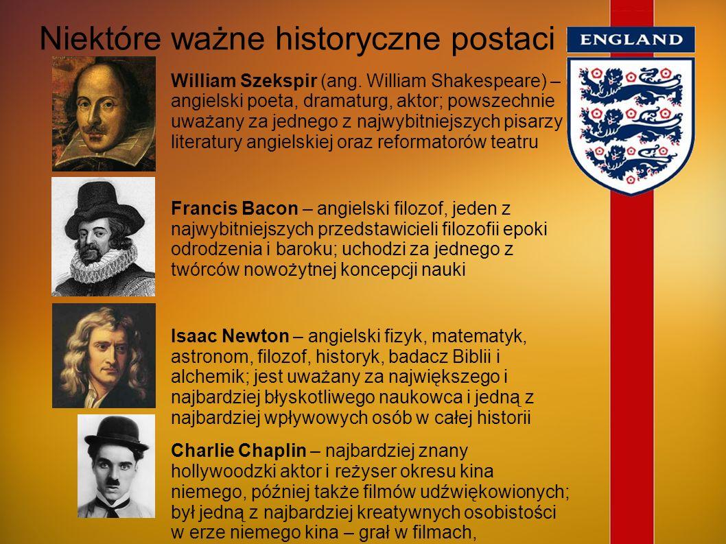 Niektóre ważne historyczne postaci