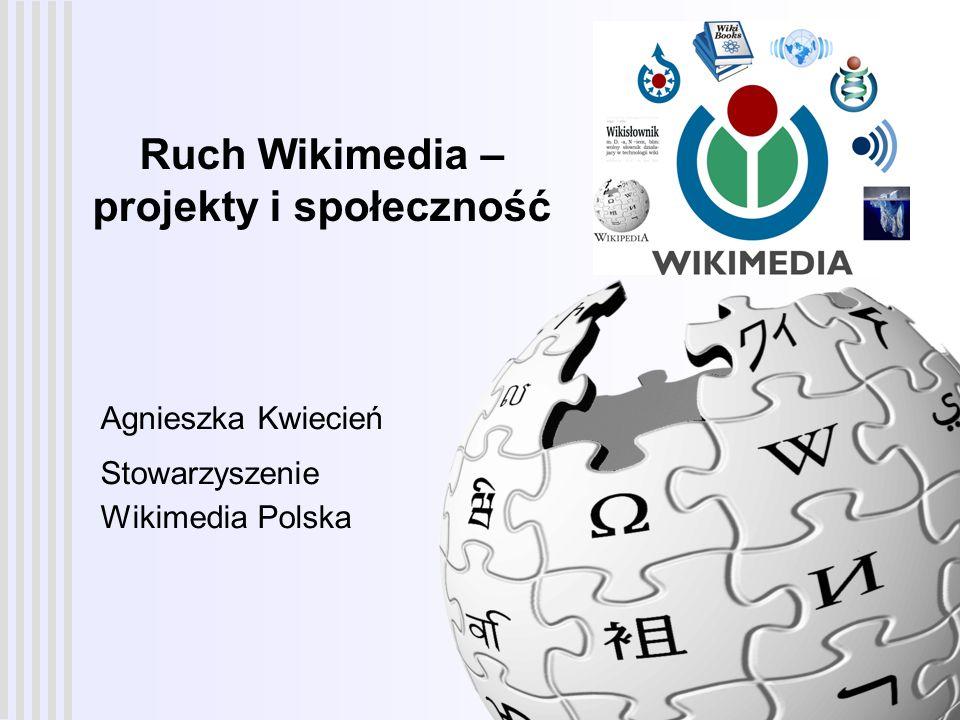 Ruch Wikimedia – projekty i społeczność