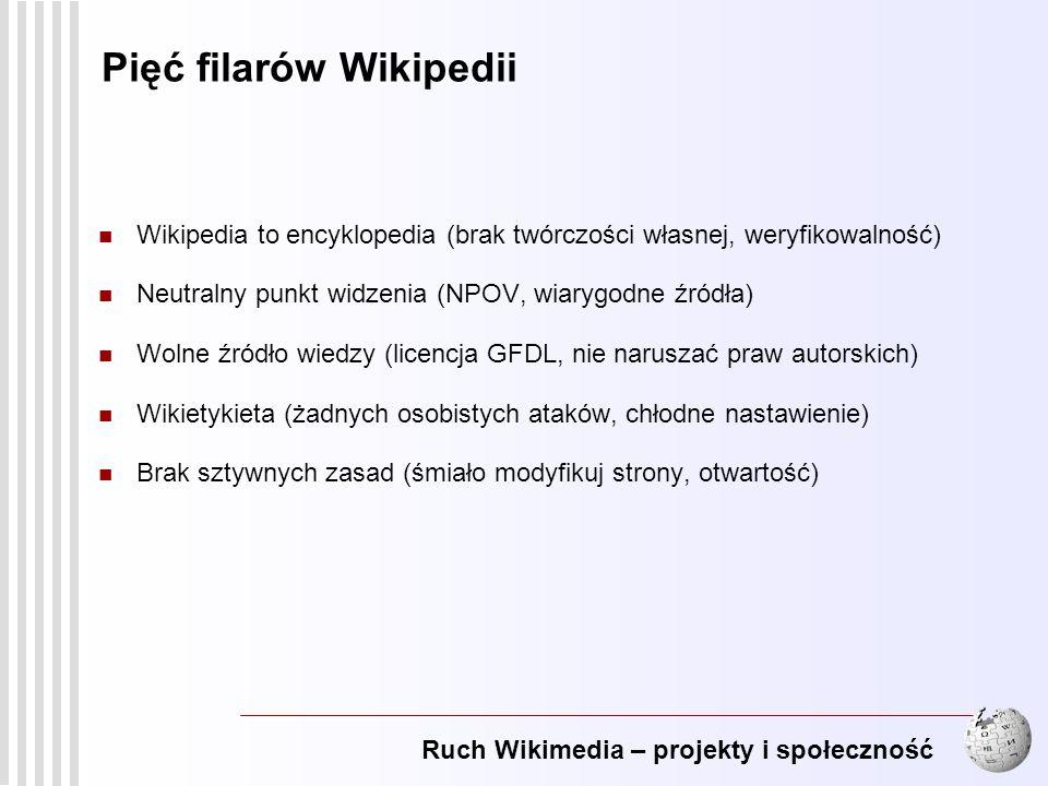 Pięć filarów Wikipedii