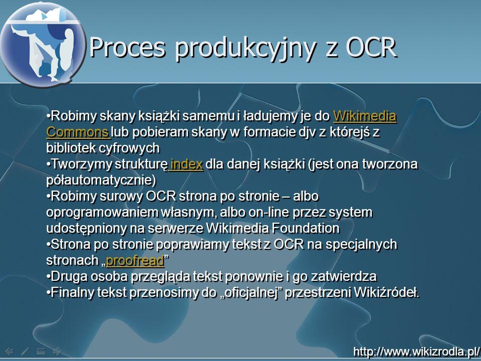 Proces produkcyjny z OCR