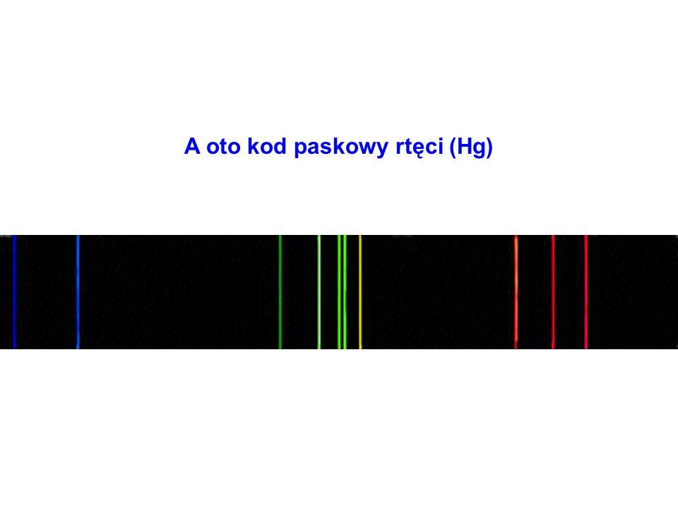 A oto kod paskowy rtęci (Hg)