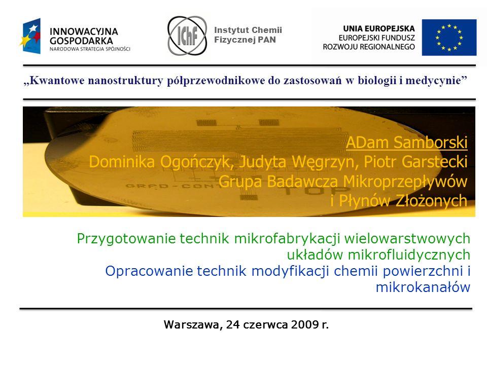 Doc.dr hab. Piotr Garstecki Dr Adam Samborski