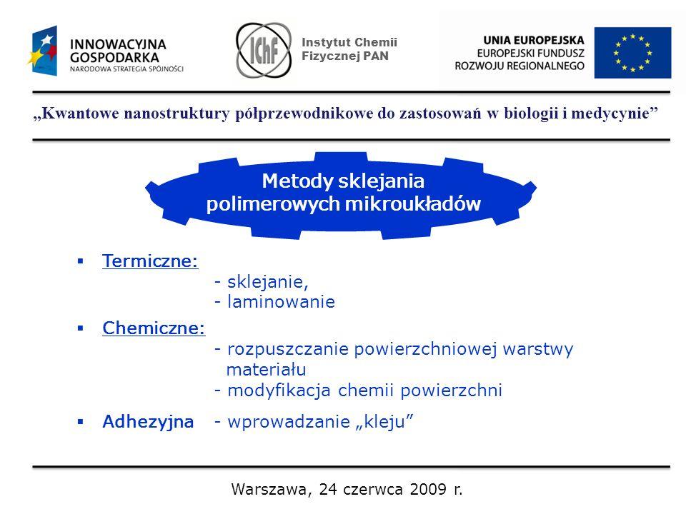 polimerowych mikroukładów