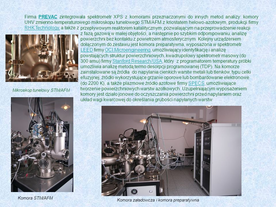 Mikroskop tunelowy STM/AFM