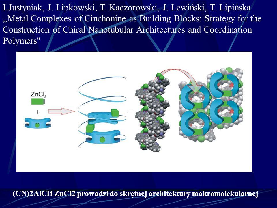 I. Justyniak, J. Lipkowski, T. Kaczorowski, J. Lewiński, T