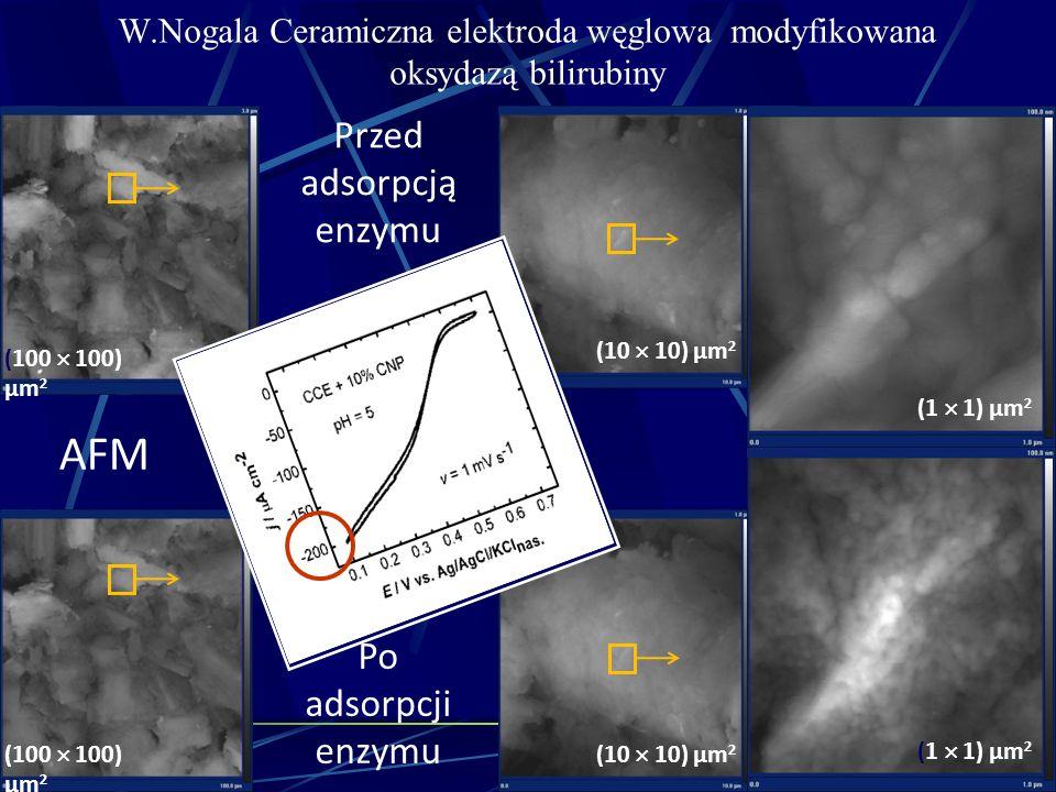 W.Nogala Ceramiczna elektroda węglowa modyfikowana oksydazą bilirubiny