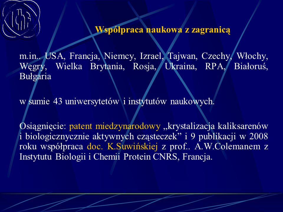 Współpraca naukowa z zagranicą