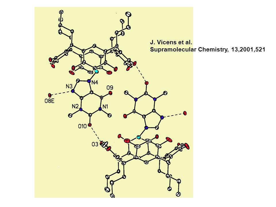 J. Vicens et al. Supramolecular Chemistry, 13,2001,521