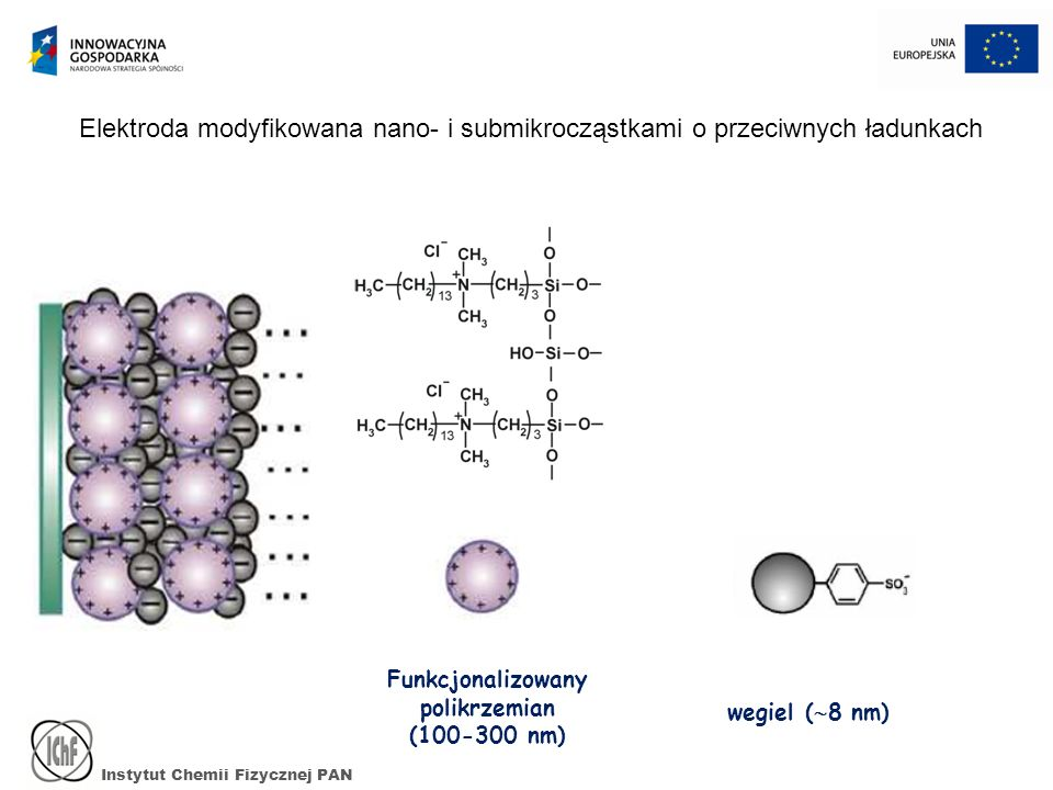 Funkcjonalizowany polikrzemian