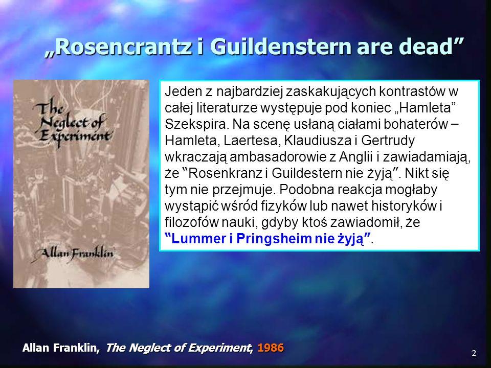 """""""Rosencrantz i Guildenstern are dead"""