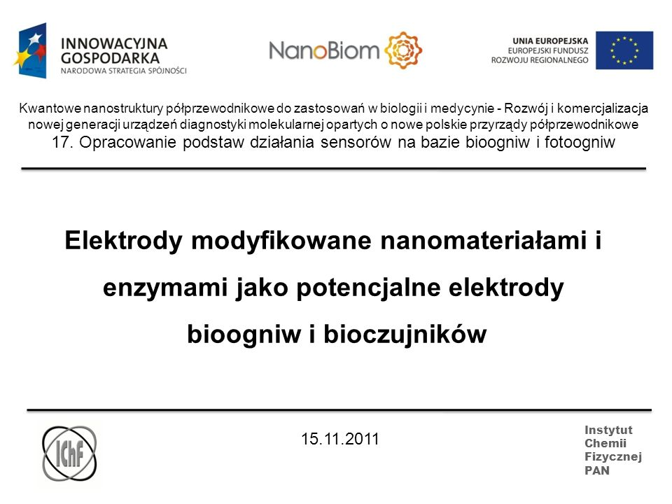 bioogniw i bioczujników