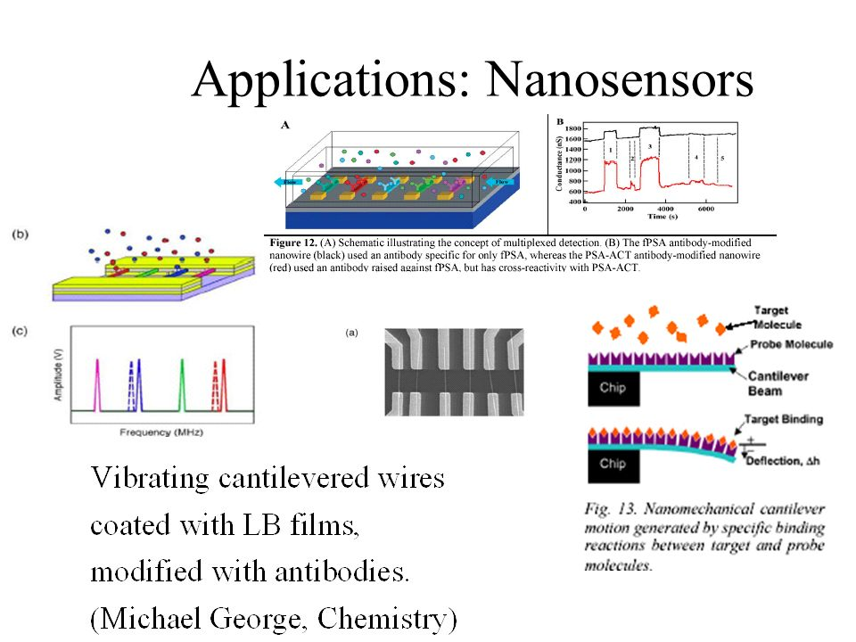 Applications: Nanosensors