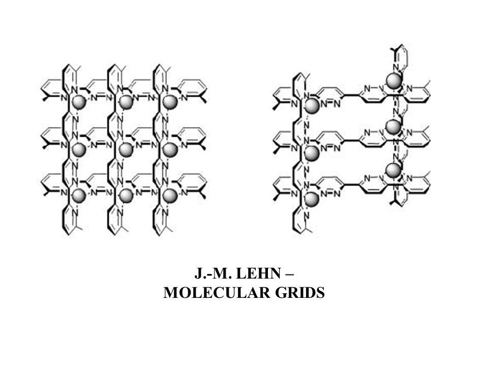 J.-M. LEHN – MOLECULAR GRIDS