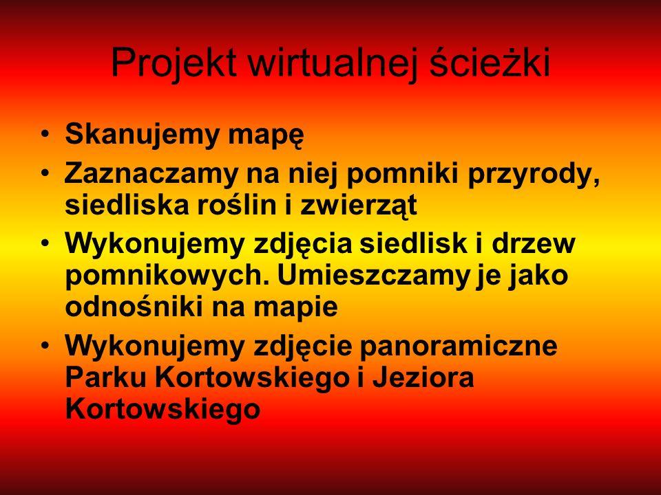 Projekt wirtualnej ścieżki