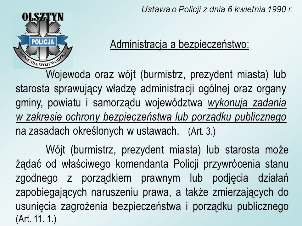 Ustawa o Policji z dnia 6 kwietnia 1990 r.