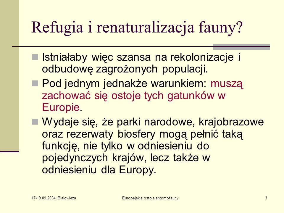 Refugia i renaturalizacja fauny