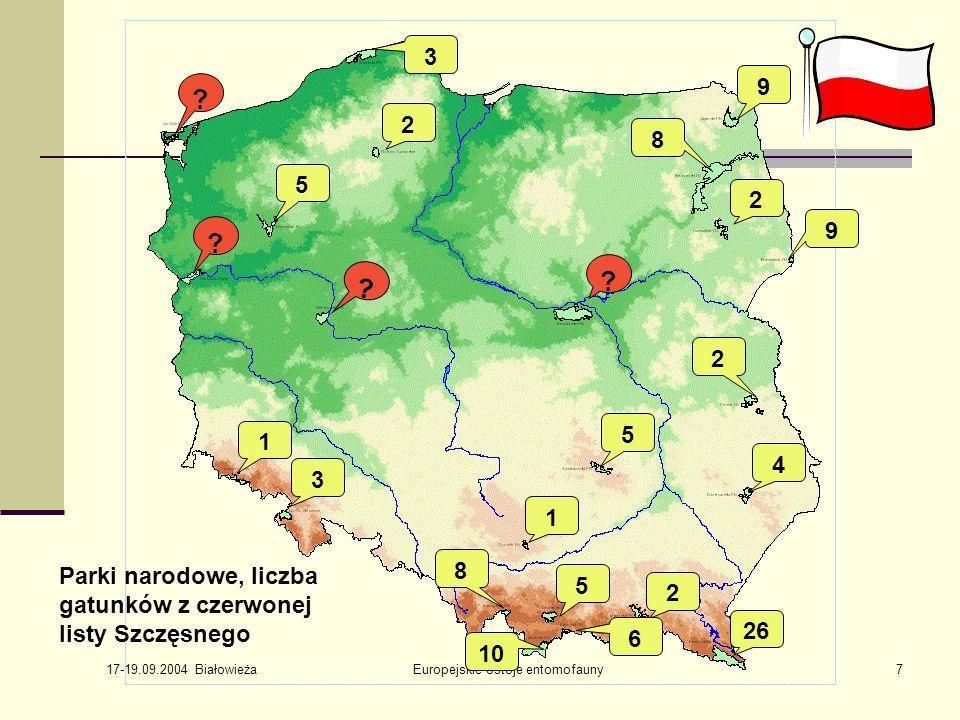 Europejskie ostoje entomofauny