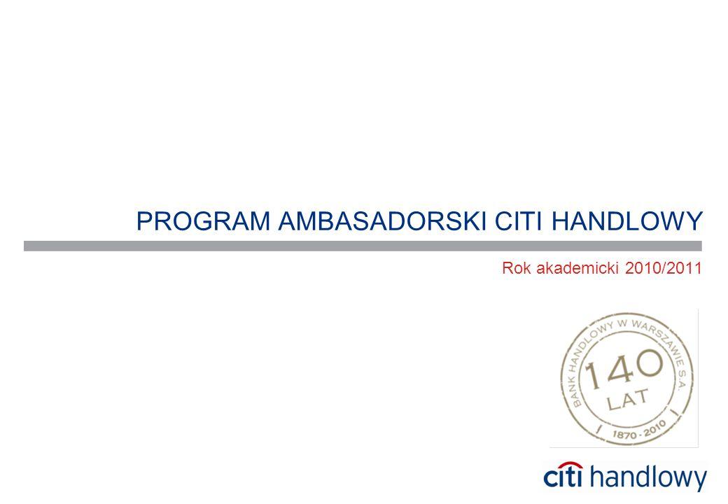 PROGRAM AMBASADORSKI CITI HANDLOWY