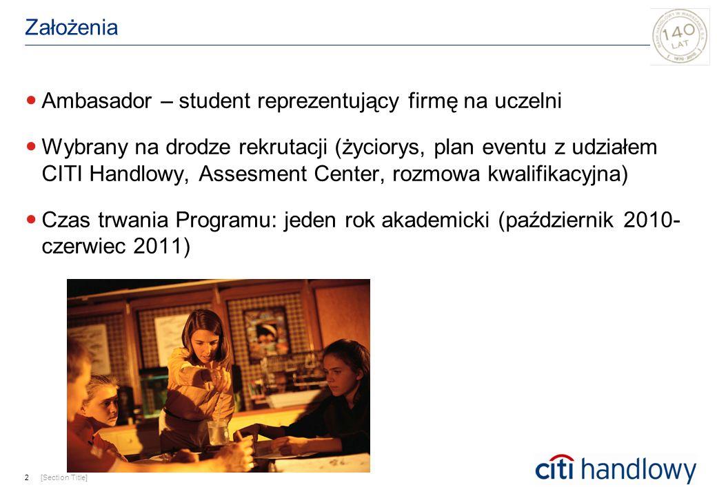 Ambasador – student reprezentujący firmę na uczelni