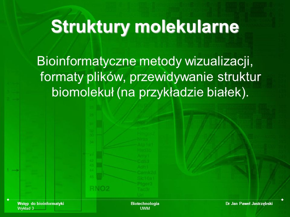 Struktury molekularne