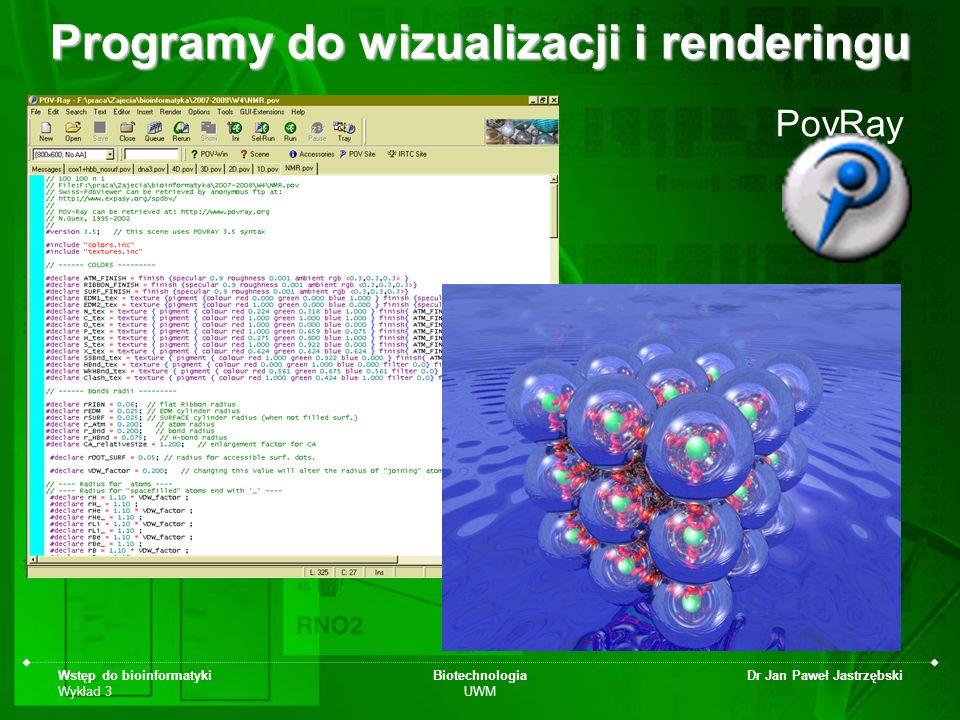 Programy do wizualizacji i renderingu