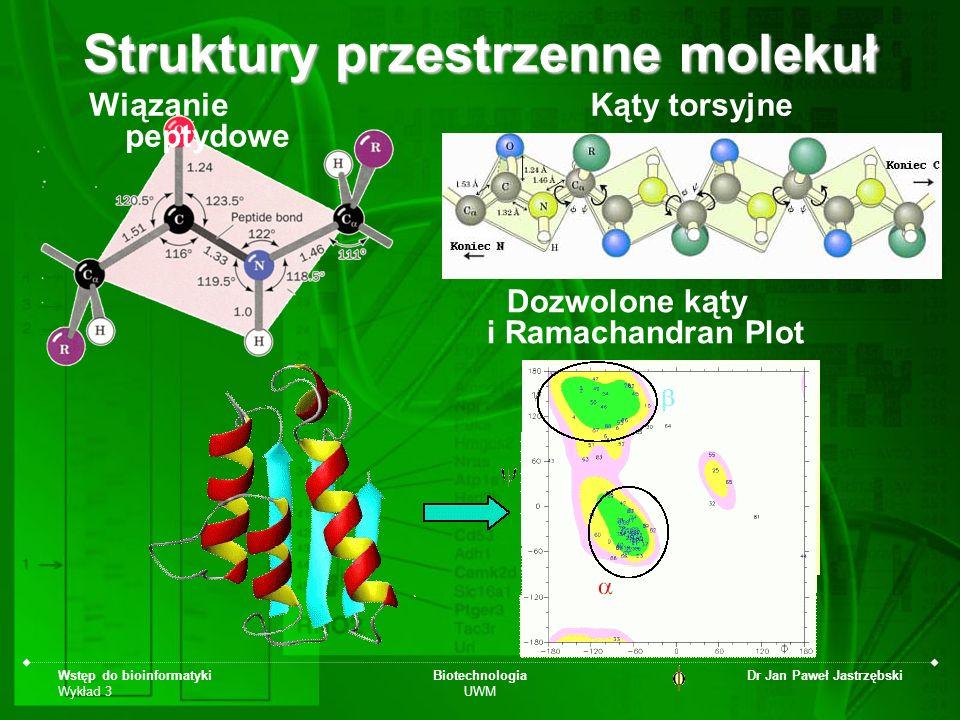 Struktury przestrzenne molekuł
