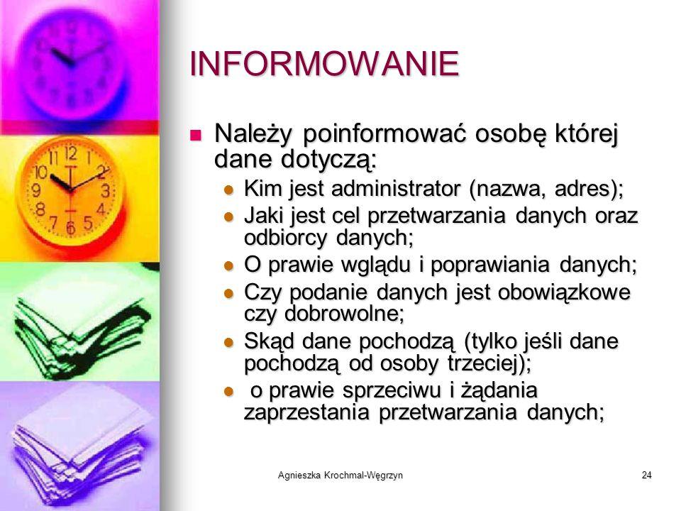 Agnieszka Krochmal-Węgrzyn
