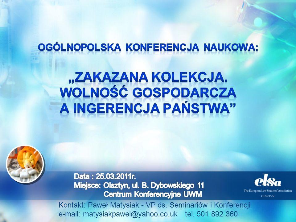 "Ogólnopolska konferencja NAUKOWA: ""Zakazana kolekcja"
