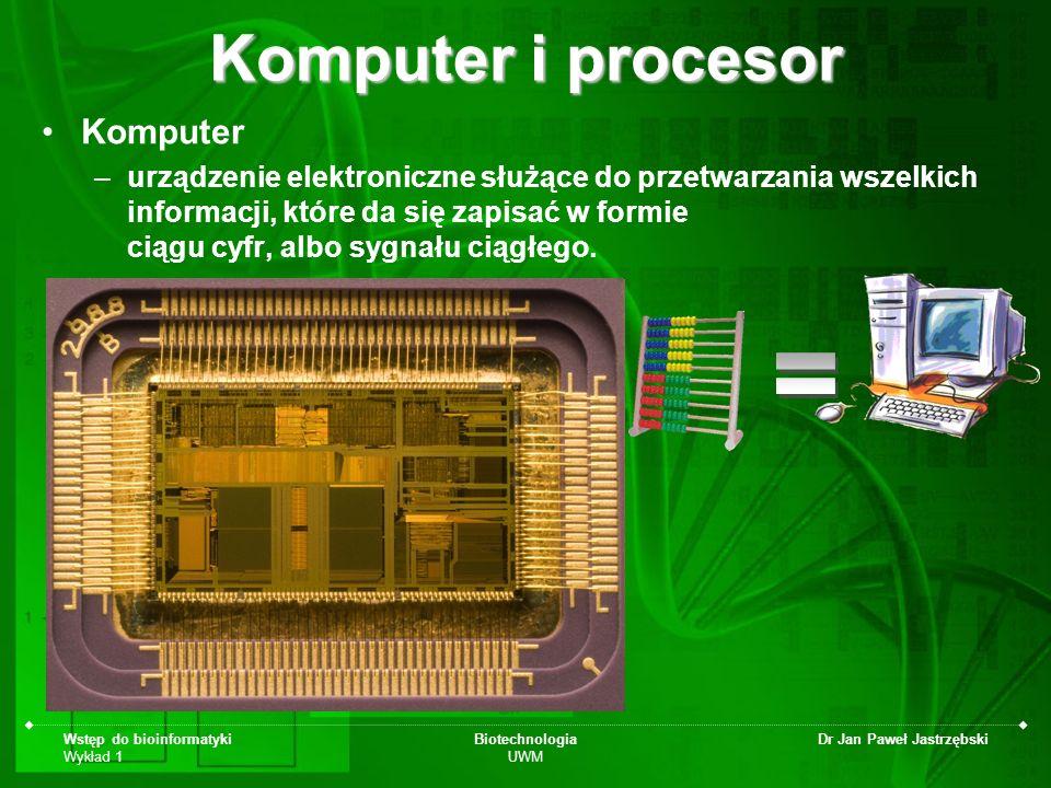 Komputer i procesor = Komputer