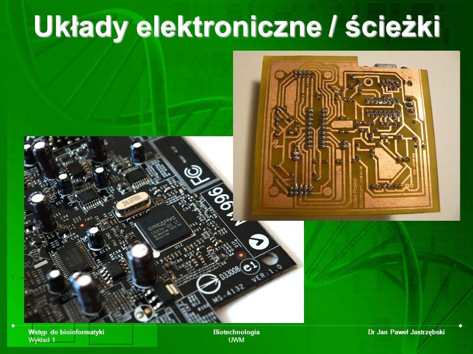 Układy elektroniczne / ścieżki