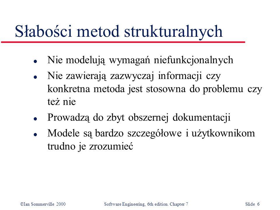 Słabości metod strukturalnych