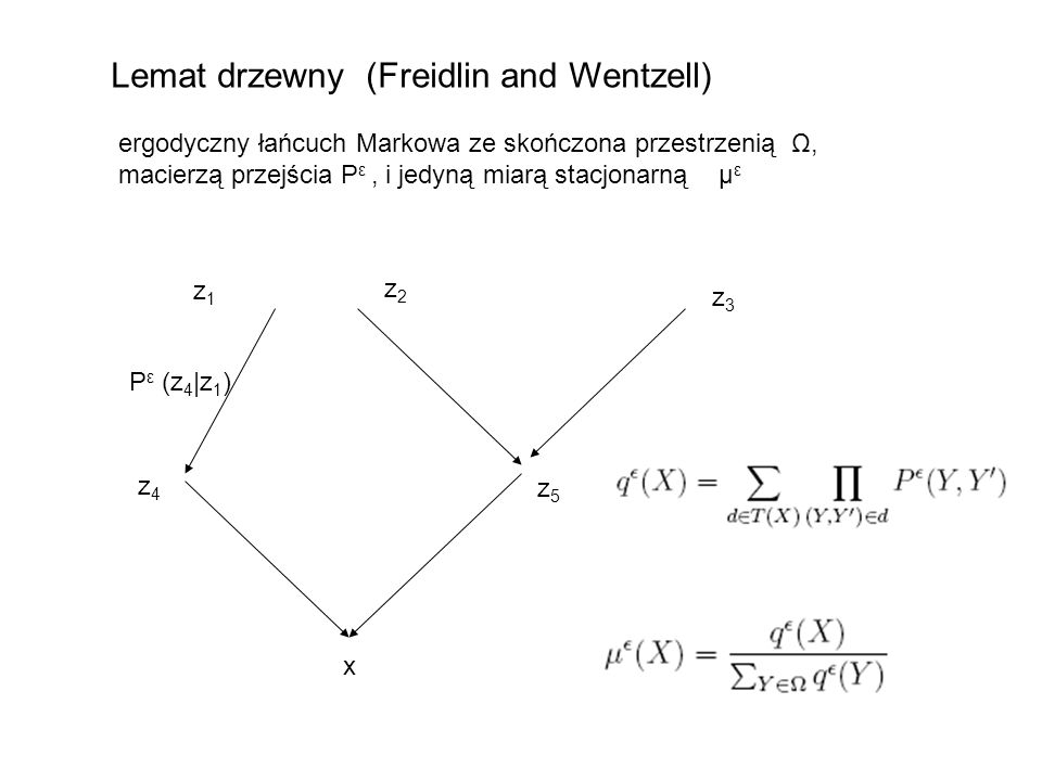 Lemat drzewny (Freidlin and Wentzell)