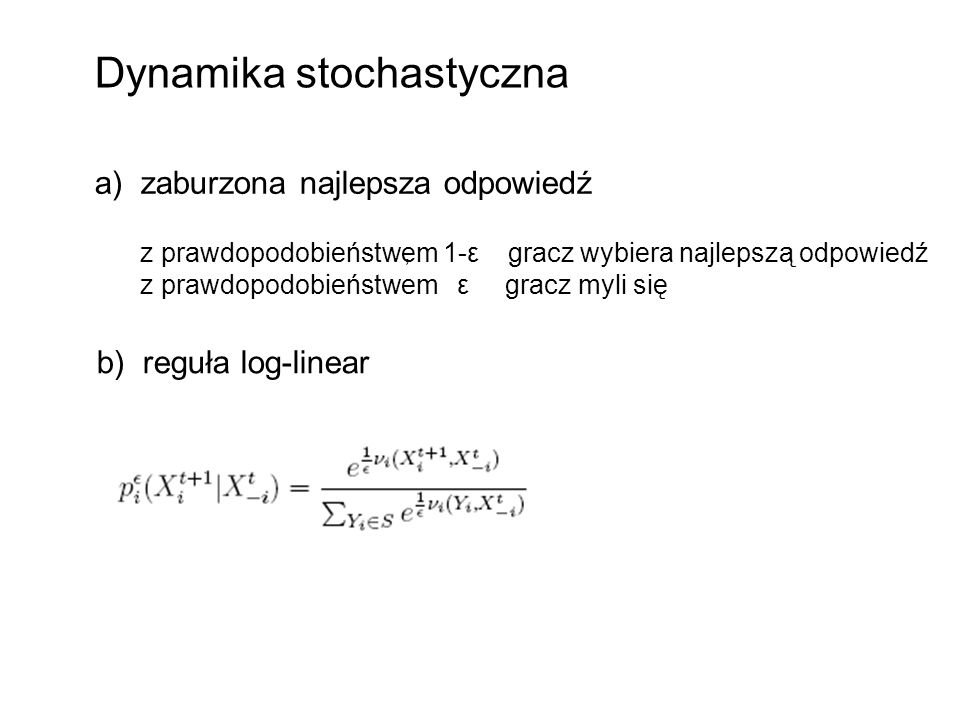 Dynamika stochastyczna