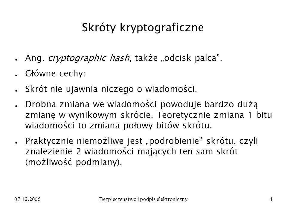 Skróty kryptograficzne