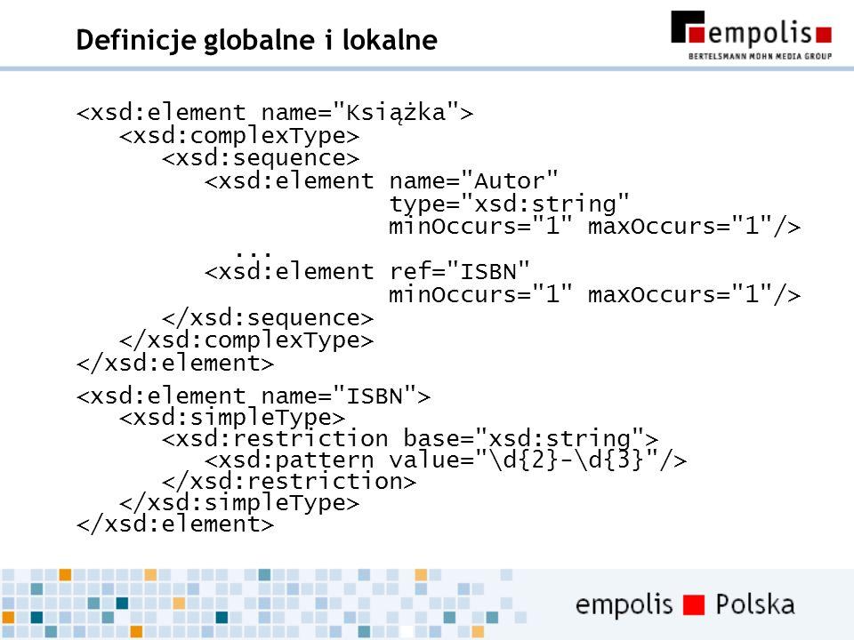 Definicje globalne i lokalne