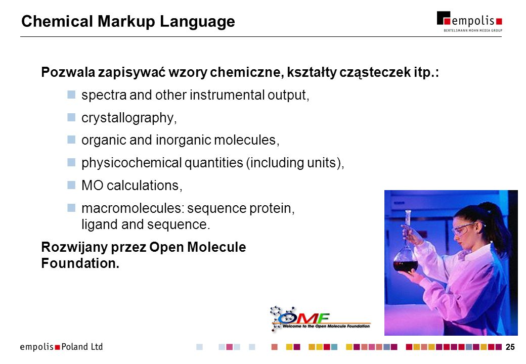 Chemical Markup Language