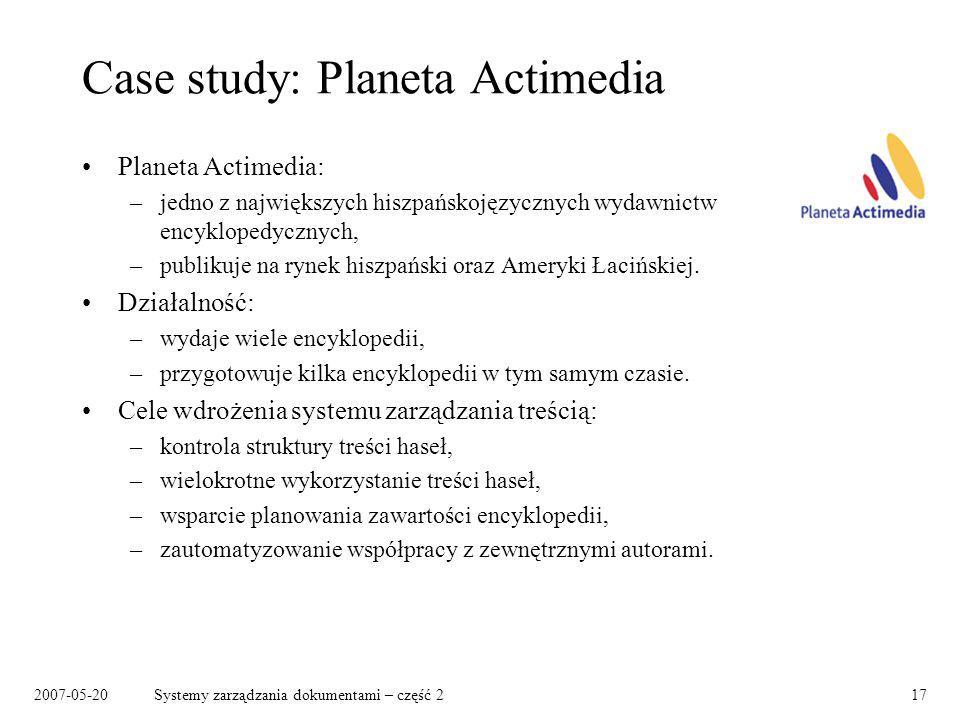 Case study: Planeta Actimedia